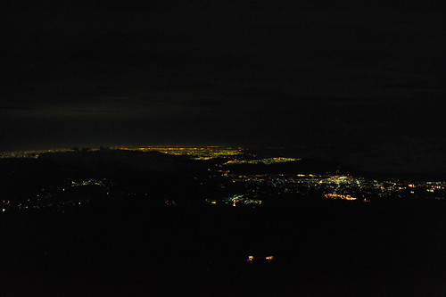 八合目からの夜景