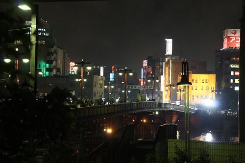 Fireworks in Asakusa, Tokyo
