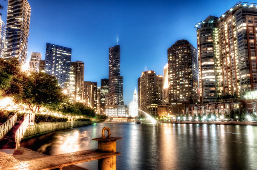 Chicago Riverwalk.