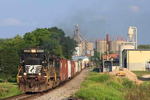 Huntingburg (IN) United States  City new picture : NS 8800 168 Huntingburg IN 31 July 2010 by Train Chaser