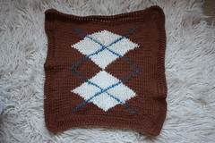 Large-Double Argyle Panel - Front