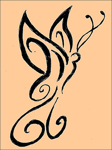 henna tattoo designs butterfly