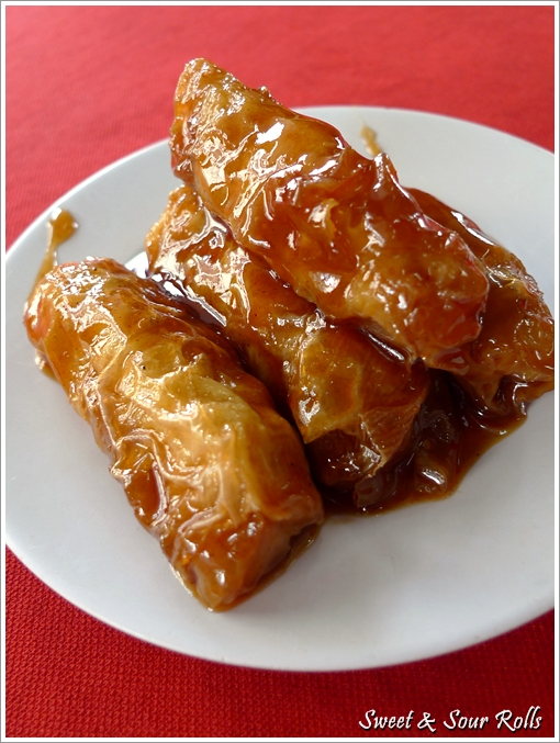 Sweet and Sour Rolls