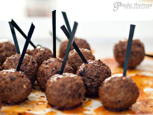 Sherry Tasting App - Lamb Meatballs