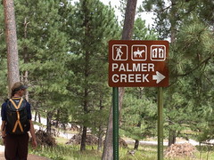Palmer Creek Trailhead (to Lost Cabin Trail) Photo