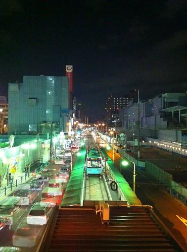 今日の写真 No.8 – 上町線 天王寺駅前/iPhone4 + Pro HDR