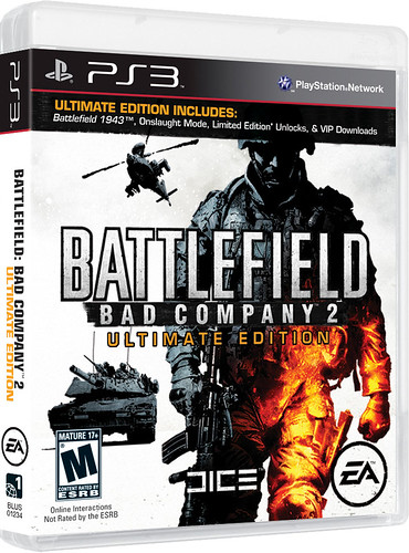 Battlefield: Bad Company 2 Ultimate Edition for PS3