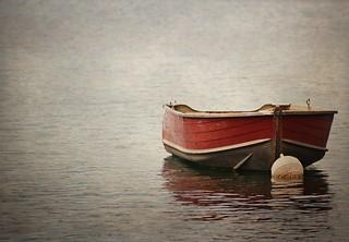 Boat of Caldonazzo