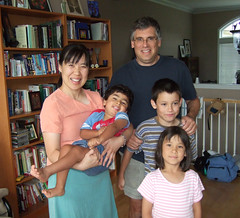 Ian, Wei, Eamonn, Molly, and Oliver