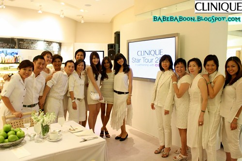 Clinique Staff & 3 winners