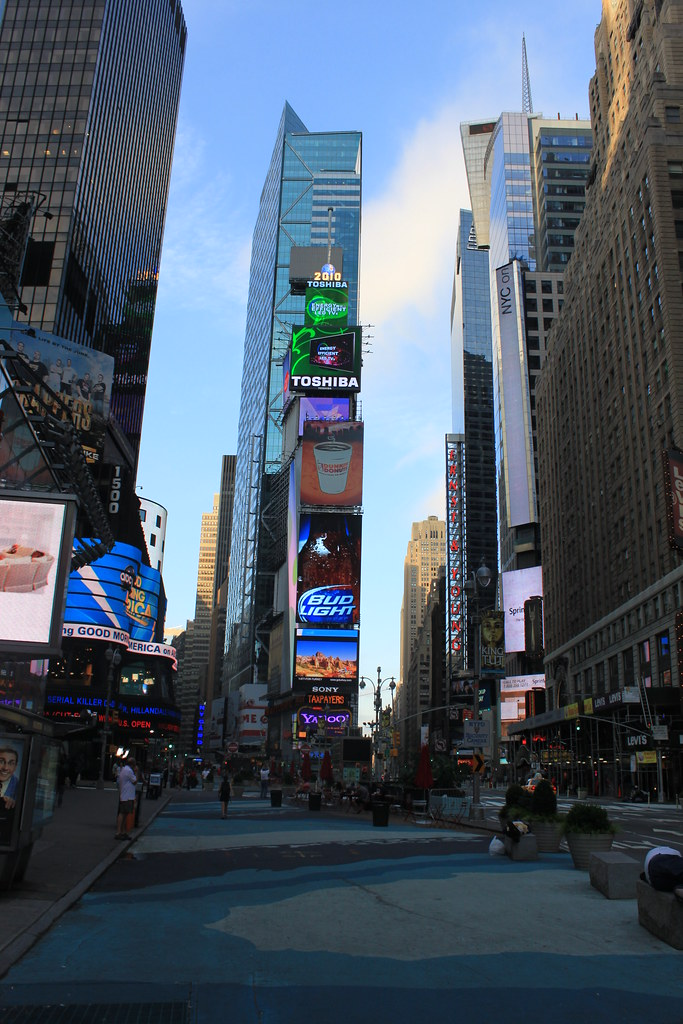 Times Square: Morning
