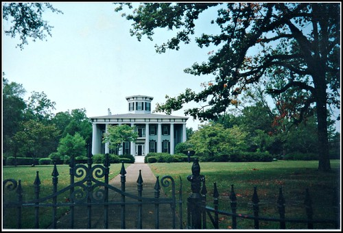 Grey Columns Plantation ~ Tuskegee, Al ~ Film Early 1990s