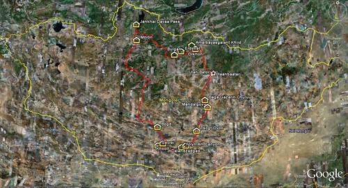Mongolia_route
