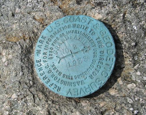 MacRae Peak marker