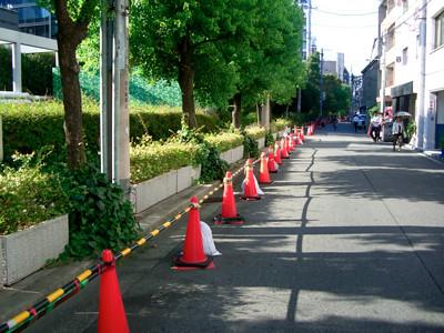 梅田センタービル周辺の駐輪事情