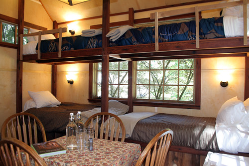 The Upper Pond - Tree house Interior.