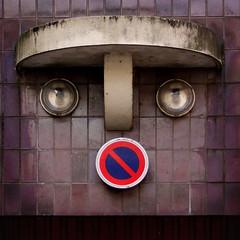 robotic duckface (lepublicnme) Tags: paris france square september explore 2010 robotic duckface carréfrançais