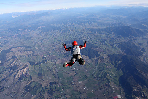 New Zealand, Skydiving Good Vibes, Iuko freefall Abal Tasman