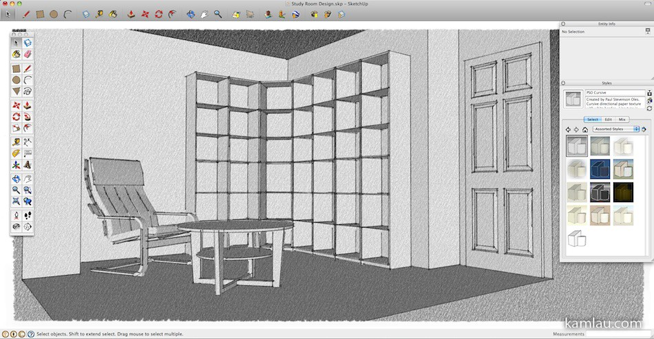 How To Use Google SketchUp for Interior Design – kamlau com