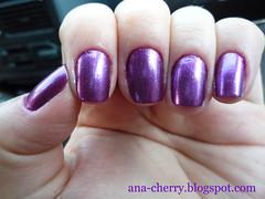 Unha do dia!   06/09/2010 (Cherry - Ana Paula) Tags: unha esmalte colorama roxometlico unhadodia