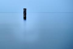 Pfahl (hiasl_3) Tags: blue sea meer exposure baltic pale blau ostsee belichtung usedom longtime koserow langzeit pfahl gettyimagesgermanyq1 gettygermanyq2 gettygermanyq4