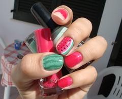 Melancia (JaneBar) Tags: nail watermelon melancia unhas nailart esmalte