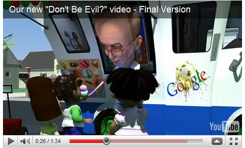 Extrait d'une vidéo représentant Eric Schmidt