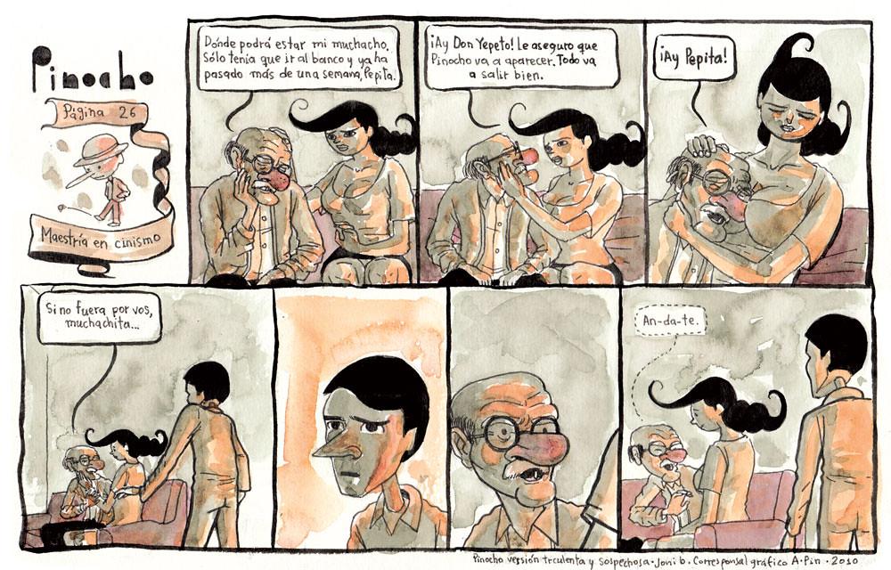 PÁGINA 26: MAESTRÍA EN CINISMO