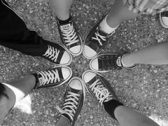 converse circle (dClaudio [homofugit]) Tags: camping girls summer bw circle funny guys converse allstar bys mygearandmepremium mygearandmebronze mygearandmesilver mygearandmegold mygearandmeplatinum