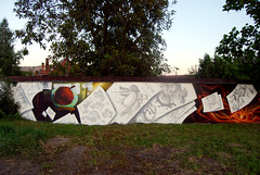 another character (mrzero) Tags: school wall graffiti eger style cans commision hepi mrzero sior bki felnmet