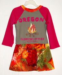 Oregon - Upcycled 3T Dress