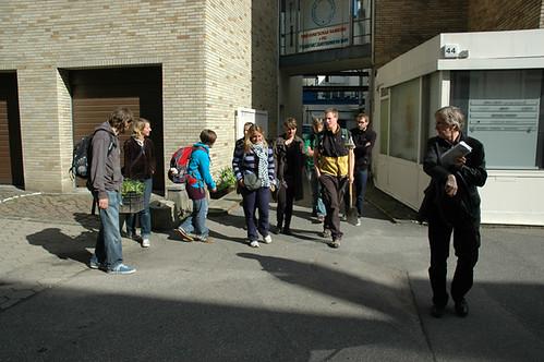 Treffpunkt: vor der Freien Kunstschule Hamburg.