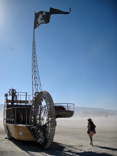 The C.S. Tere, Best Pirate Ship on the Playa