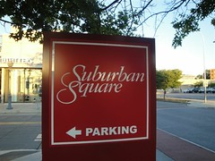 Suburban Square (Joe Architect) Tags: travel signs philadelphia sign retail mall pennsylvania pa philly ardmore 2010 mainline suburbansquare