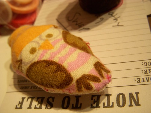 Little Owl Stuffie