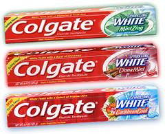 colgate sparkling white toothpaste