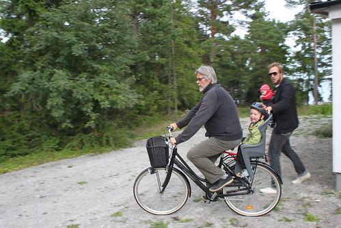 En avslutande cykeltur