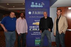 Social Media + Family, Atlanta Panelists