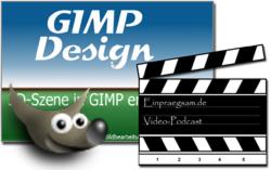 3d-design in GIMP - digitale Bildbearbeitung