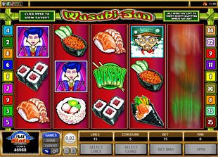 Wasabi San slot game online review
