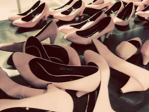pink pumps