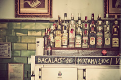Sevilla - In the kingdom of bottles (manlio_k) Tags: bar vintage bottle sevilla spain siviglia