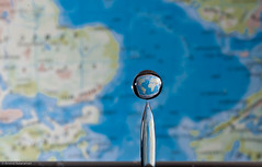 It is a small world (Arvind ( www.arvindbalaraman.com )) Tags: blue sky abstract motion cold color macro reflection nature wet water up rain horizontal closeup circle frozen droplets drops cool shiny drink ripple background objects wave clean clear drip health instant environment bathtub flowing rippled transparent liquid hygiene concentric thirsty concepts purity splashing splashes