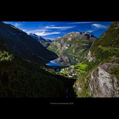Geiranger (stella-mia) Tags: reflection norway landscape mount fjord geiranger 2470mm explored bythefjord moreogromsdal canon5dmkii