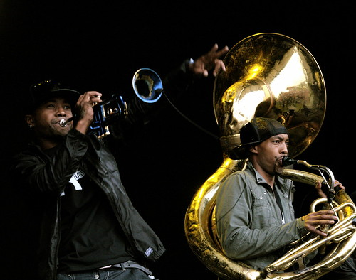 Hypnotic Brass Ensemble Live @ Electric Picnic 2010