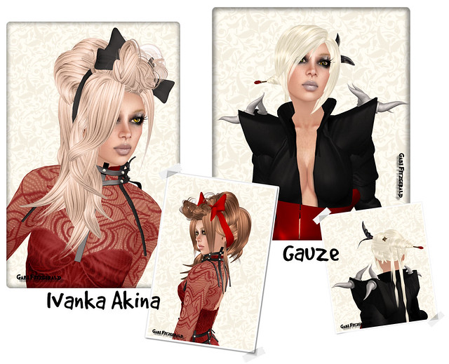Hair Fair 2010 - ivanka akina and gauze
