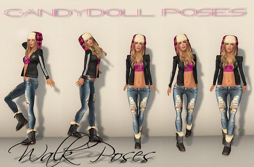 Walk Poses
