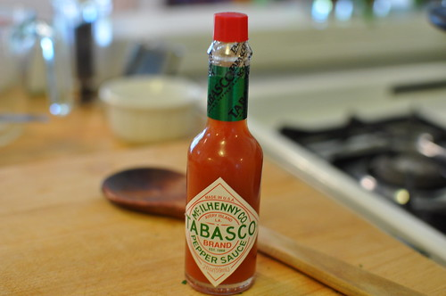 tabasco only
