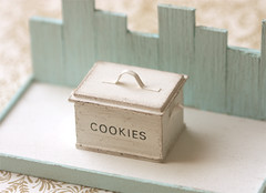 Dollhouse Miniature 1/12 Scale Cookie Box