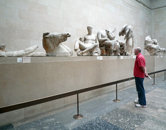 Phidias, Parthenon, East Pediment with Viewer